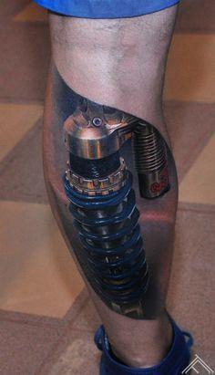 I am Maris Pavlovskis and I am a tattoo artist from Latvia. Hammer Tattoo, 4 Tattoo, Sick Tattoo, Full Body Tattoo, Calf Tattoo, Tattoo Blog, Body Art Tattoos, Hand Tattoos, Sleeve Tattoos