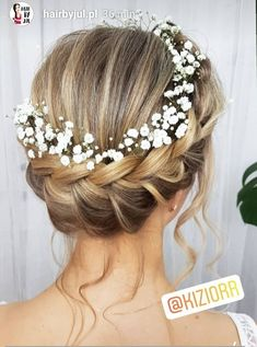 Pin Up with Wreath Wedding # Pin Up # Wedding # Wreath Bride Hairstyles Pin Wedding Wreath Bridal Hair Updo, Bridal Hair Flowers, Wedding Hair And Makeup, Bridal Makeup, Flower Crown Wedding, Hair Wedding, Wedding Hairstyles With Crown, Bride Hairstyles, Braided Crown Hairstyles