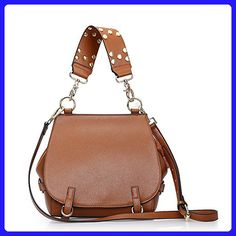 Sheli Designer Shoulder Brown Convertible Genuine Leather Ladie Cross Body Bag Hobo for Women - Crossbody bags (*Amazon Partner-Link)