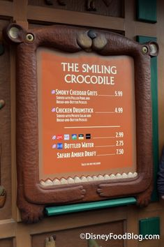 Disney's Animal Kingdom Food | Review: Smoky Cheddar Grits at The Smiling Crocodile