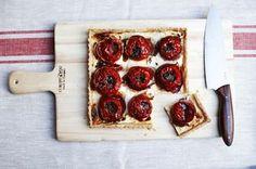 Tomato Tart with Goat Cheese, Quark, Prosciutto, and Gremolata Recipe on Food52 recipe on Food52