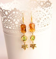 Hey, I found this really awesome Etsy listing at https://www.etsy.com/listing/185877186/earrings-leaves-fall-jewelry-gift