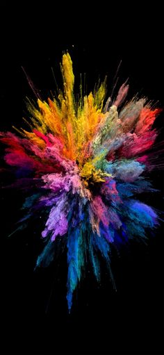 Color Bomb IPhone Wallpaper | Colourful Wallpaper Iphone