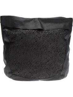 8526ca26cac7 Malloni Laser-Cut Shoulder Bag - Babylon Bus Women - farfetch.com Laser  Cutting