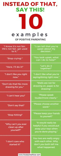 10 things you should never say to your child – Say this instead! To yell at your child is one of the most common errors that we adults do. Research show that scolding may actually be worse for a child than a physical intervention. Here are some this for what not to say to your child and what you should say intead for a more positive parenting. It may test your patience!