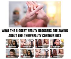 Beauty Bloggers review the #KKWBeauty Highlight and Contour Sticks