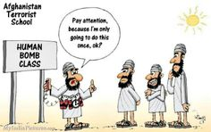 Terrorist School Terror Education <b>Funny</b> Cartoon <b>Jokes</b>, Cartoon <b>Jokes</b>