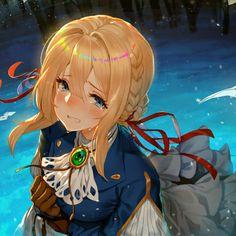 Sad Anime, Anime Guys, Manga Anime, Anime Art, Top Anime Series, Western Anime, Violet Evergreen, Violet Evergarden Anime, Kyoto Animation