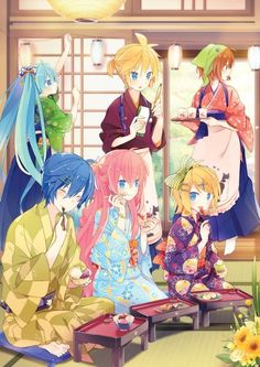 Find images and videos about anime, vocaloid and hatsune miku on We Heart It - the app to get lost in what you love. Manga Anime, Anime Art, Hatsune Miku, Vocaloid Funny, Kaito Shion, Kaai Yuki, Samurai, Kagamine Rin And Len, Miku Chan