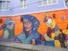 Valparaíso, epicentro del arte urbano en Chile