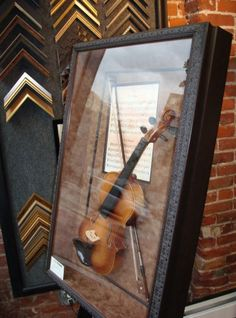 Custom Framed Violin.