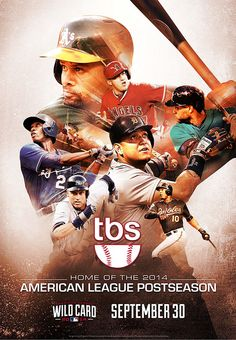 2014 MLB Postseason on TBS on Behance