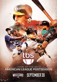 2014 MLB Postseason on TBS on Behance