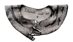 Cleo Ferin Mercury's scarves from The Animal Friendly line are so neat!