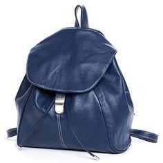 DRF Vintage Genuine Leather Backpack Rucksack Satchel Sho…
