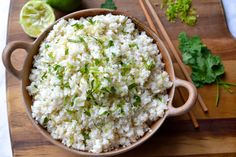 Coconut Cauliflower Rice | Every Last Bite Vegetarian Recipes, Cooking Recipes, Healthy Recipes, Coconut Cauliflower Rice, Specific Carbohydrate Diet, Carb Alternatives, Candida Diet, Paleo Whole 30, Cooking Instructions