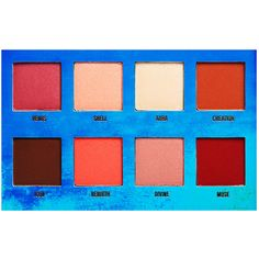 Lime Crime Eye Shadow Palette (130 RON) ❤ liked on Polyvore featuring beauty products, makeup, eye makeup, eyeshadow, beauty, eyes, fillers, lime crime and palette eyeshadow