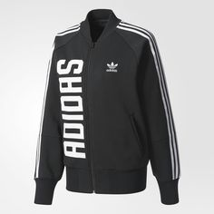 Jaqueta preta Adidas