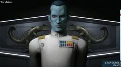 Holy crap. Rebels has a new Big Bad, and it's an old Big Bad—Grand Admiral Thrawn, the brilliant Imperial military commander who took over the remnants of the Empire in the old Expanded Universe, as revealed in the very first EU novel trilogy by Timothy Zahn.