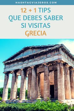 12 + 1 tips que debes saber si visitas Grecia   Hashtag #Viajeros
