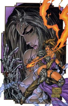 Witchblade #3//Michael Turner/T/ Comic Art Community GALLERY OF COMIC ART