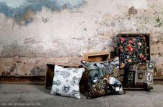 EMILY HUMPHREY cushions www.emilyhumphrey.co.uk