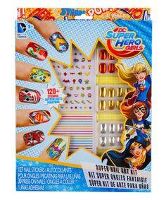Love this Superhero Girls Nail Art Kit on #zulily! #zulilyfinds