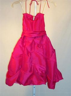 GIRLS FORMAL DRESS Cinderella Couture Size 4 Pink QUINCEANERA PARTY PAGEANT