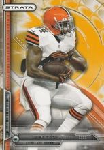 2014 Topps Strata Gold #79 Ben Tate Cleveland Browns