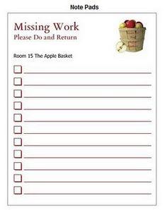 diy missing work folders pinterest missing work work folders