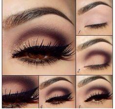 Glamorous Eye Makeup #Fashion #Beauty #Trusper #Tip