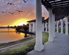 Lake Merritt Pergola, Oakland by Jon Fisher