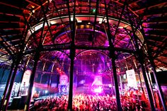 Former railway engine shed turned performance art and music venue in Camden Town, Greater London. One of the very best places to catch a show.