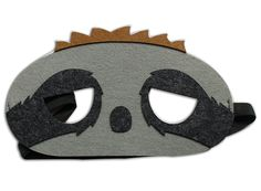 Masquerade Felt Mask Sloth Felt Birthday Halloween Family Party KidsandAdults *** Click on the image for additional details.