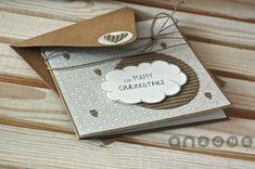 Kartka na Chrzest/Komunię z kieszonką Diy And Crafts, Paper Crafts, Stationery Paper, Paper Design, Box, Concept, My Favorite Things, Christmas, Cards