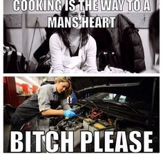 I can do both and my Hubby knows that ;-)