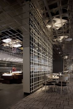 Three On Canton, Asia restaurant, Hong Kong by CL3 Architects