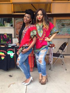 Dashiki & Denim