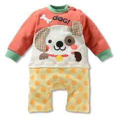 2013 новых детских осень летняя одежда ребенка ползунки новорожденных мультяшном стиле ползунки детская одежда, принадлежащий категории Десткие комбинезоны и относящийся к Детские товары на сайте AliExpress.com | Alibaba Group