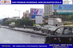 Now advertise all over mumbai with great barter offers at www.globaladvertisers.in  Media : Hoarding  Location : Dadar-Mumbai Size : 40 X 20  #advertising #OOH #mumbai #billboards #marketing #promotion