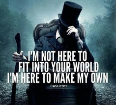 Unless you're awesome don't expect an invite to be part of my world.