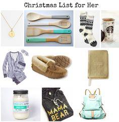 Christmas List for Her
