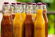 Pickling Cucumbers, Hot Sauce Bottles, Turmeric, Conservation, Preserves, Pickles, Spicy, Food And Drink, Cooking Recipes