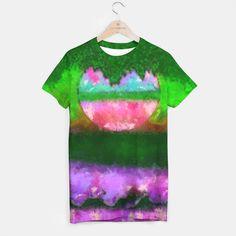 Decorative   landscape and colors T-shirt