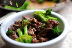 Gonna have to learn to make this beef & broccoli... Seems super easy, I just don't know what rice wine is. My kiddo loves Meat & Trees!
