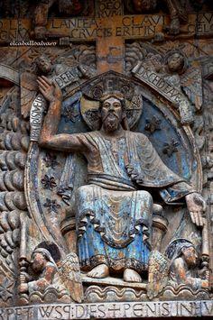 Sainte Foy De Conques, Romanesque Art, Sculptures, Lion Sculpture, Medieval Art, Religious Art, Byzantine, Salvador, Geography