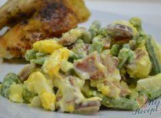 Fazolkový salát jako příloha nebo hlavní jídlo