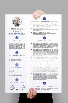 Murtaza Shapurwala Resume on Behance