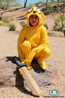 Adventure Time Cosplay: Jake the Dog