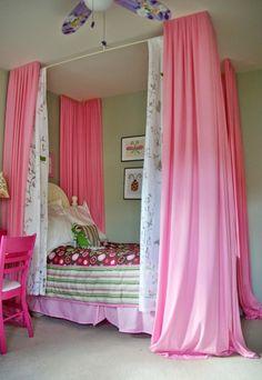 Girl's Pink Bedroom